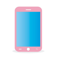 Pink-mobile vector