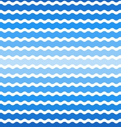 Wave blue gradient background seamless pattern vector