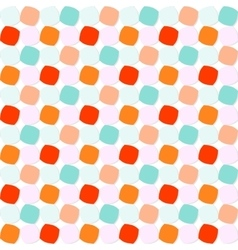 Colorful rounded squares pattern vector