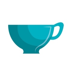 Cup for drink isolated icon vector