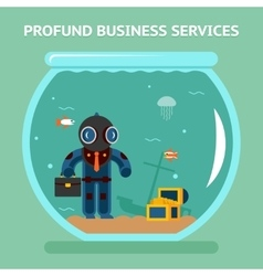 Profound business services vector