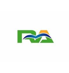Ra logo vector