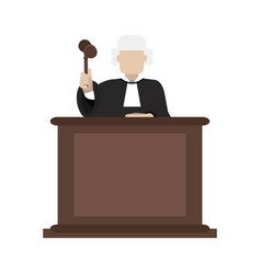 Law and justice icon image vector
