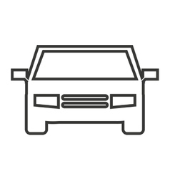 Car isolated icon design vector