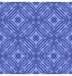 Blue endless texture oriental geometric ornament vector