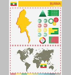 Burma vector