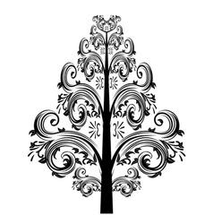 Decorative floral ornament2 vector