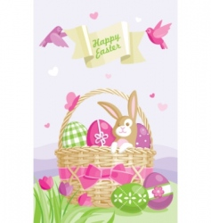 easter illustration vector image