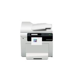 Multi-function printer on working vector
