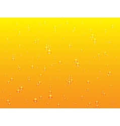 background of light beer texture vector image
