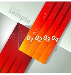 Abstract line background design template vector