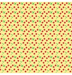 Ukrainian seamless texture vector