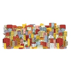 Abstract cityscape background sketch for your vector