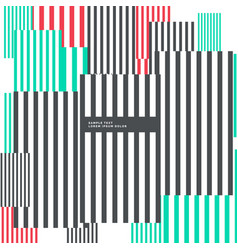 Abstract geometric vertical lines background in vector