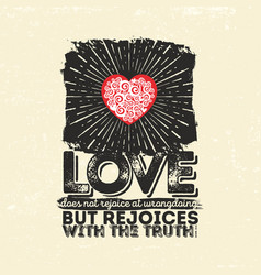 christian typography and bible text vector image