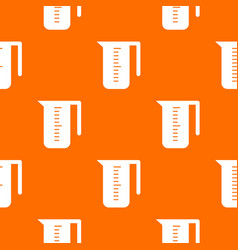 Measuring cup pattern seamless vector