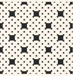 Square pattern with big and small rounded squares vector