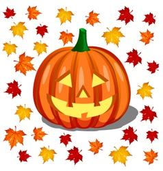 pumpkin - halloween vector image