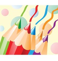 Colour pencil vector