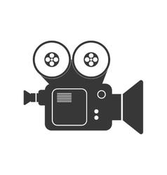 Videocamera icon movie design graphic vector