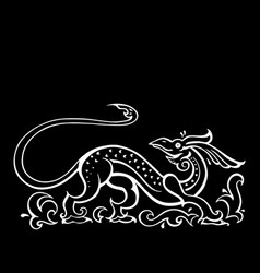Dragon traditional ethnic vector