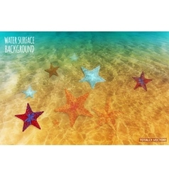 Water Surface Background vector image vector image