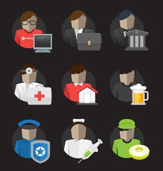 User Jobs vector image
