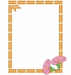 flowers frames vector image