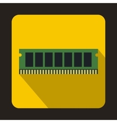Dvd ram module for the personal computer icon vector