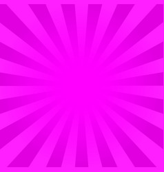 Bright pink rays background vector