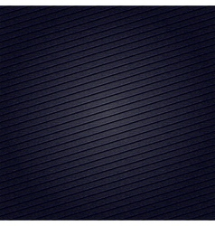 Striped fabric surface for dark blue background vector image vector image
