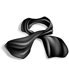 Silk scarf vector