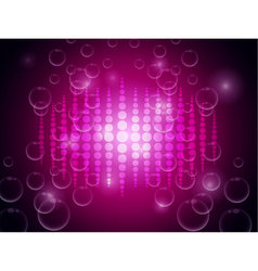 Abstract on pink blurry background vector