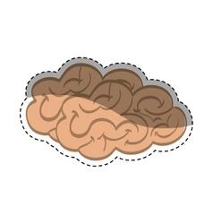 Human brain mind vector image vector image