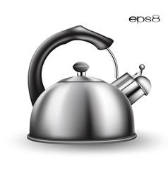 Tea kettle vector