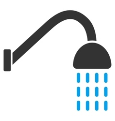 Shower flat icon vector