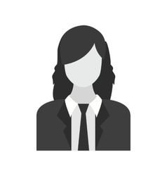 Female finance officer vector