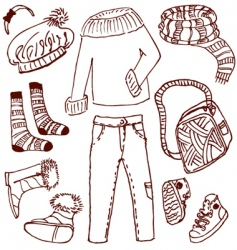 Clothes vector