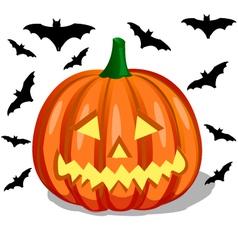 Pumpkin - halloween vector