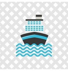Marine icon design vector