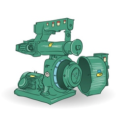 Industrial machine vector