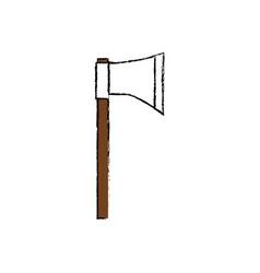 Ax tool icon vector