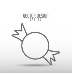 Candy icon design vector