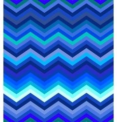 Dark turquoise and blue gradient chevron seamless vector image