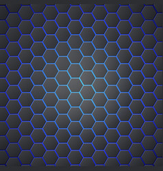 Honeycombs abstract 3d hexagonal seamless backdrop vector