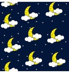 Seamless texture night sky vector