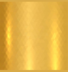 shiny metallic gold texture vector image