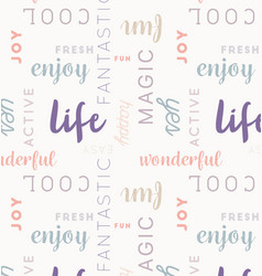 Seamless type pattern life rose vector