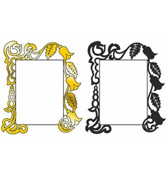 Patten frame vector
