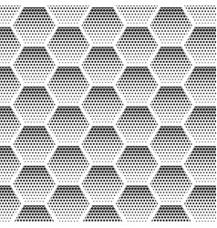 abstract halftone minimalist seamless pattern on vector image vector image